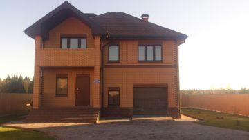 фото нового кирпичного дома