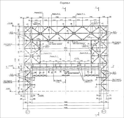 кабельные эстакады фото чертежа